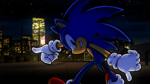 Sonic the Hedgehog[25] by Light-Rock