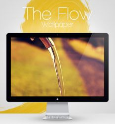 The Flow Wallpaper by Fi3uR