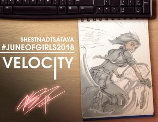 JuneOfGirlzzz The 16th (SHESTNADTSATAYA) Velocity by IvanDovbnya