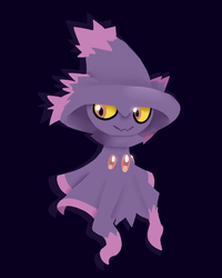 Mismagius -Request- by Tokketsu