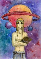 Rings of Saturn by EmilyMarch