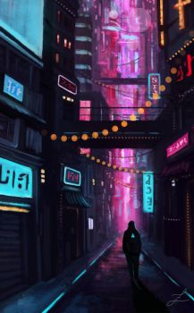 Midnight city. by Zary-CZ