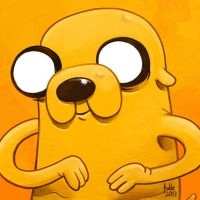 Daily Sketches Jake the Dog by fedde