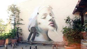 Inner Vision by urban-street-art