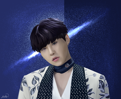 BTS Suga Blood Sweat And Tears by mishil2215