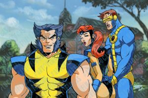 X-Men Animated Love Triangle 2019 3-21 by LucasAckerman