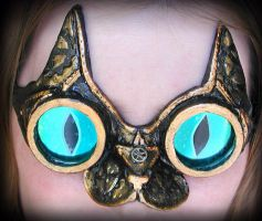 Steampunk Cat Goggles by Namingway