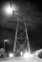 Night Tower by CharlieWilcher