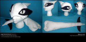 Lugia hat and tail by Neon-Juma