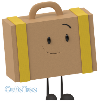 (inanimate insanity)-Suitcase by CutieTree