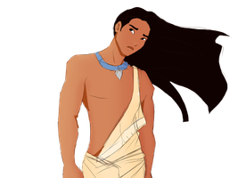 Male Pocahontas by FlyingPings
