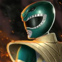 Green Ranger by Pedro-Ferreira