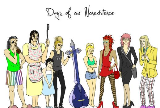 Days of our Nonexistence by contra-rawr