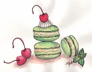 Macarons by ThaisMelo