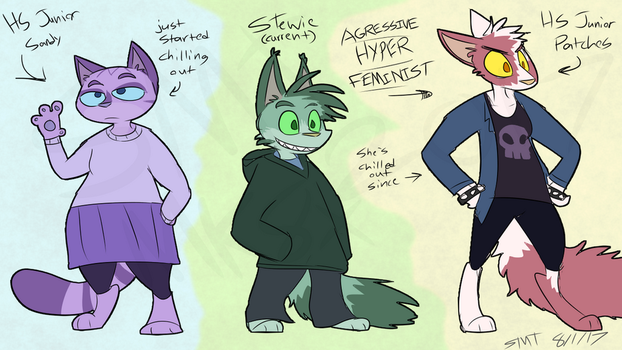 FD- Old outfit Revamp by Catmaniac8x