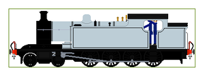 LNER T1 Sprite Base by Diamond-Jubilee