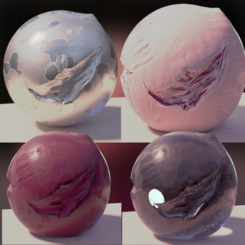 Shader Experiments by Shastro