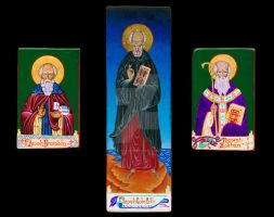 Celtic Triptych by angelboi-red