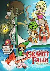 The Legend of Gravity Falls by SteveHoltisCool