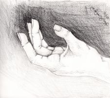 Hand study by LeezaGee