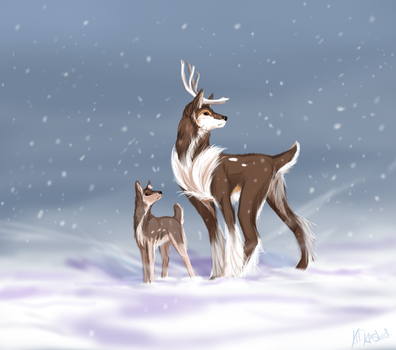 In the Snow by Susiron