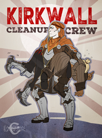Kirkwall Cleanup Crew by easorian