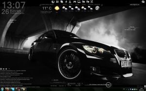Rainmeter Desktop by Mr Kaifas by MrKaifas