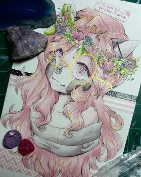 Flower baby by suqarskvll