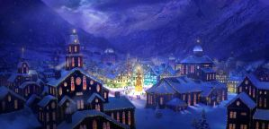 Christmas Town by Philipstraub