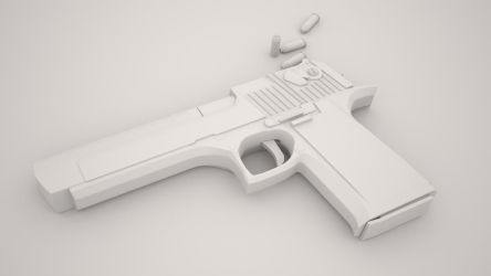 desert eagle clay by NeoLitus