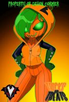 Tricks and Treats - Eloise Pumpkinseed by PlayboyVampire