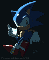 Sonic: Tech by LuLuLunaBuna