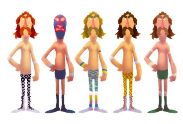 Ring My Bell character concepts by Phrunzoid