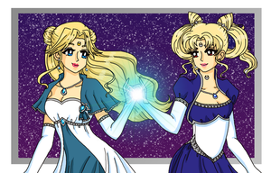 Lunar Queens by Sailor-Serenity
