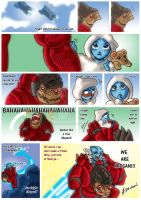 Wrex's Blue Charge by SaintWalker1806
