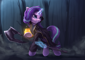 Glimmy, The Shadow of War by VanillaGhosties