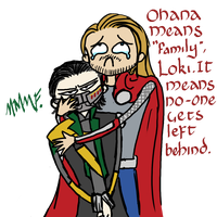 Ohana Means Family, Loki. by Chajiko