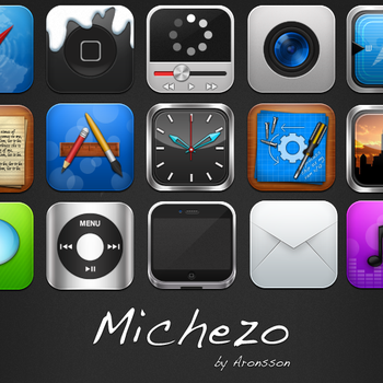Michezo - iPhone Theme by MrAronsson