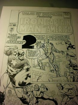 Cap recreation cover by BroHawk