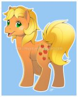 Applejack (G1) by Nyaasu