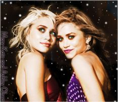 Mary-Kate and Ashley Colorize by Starlet89