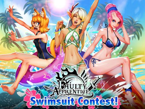 Faulty Apprentice Swimsuit Contest by dinmoney