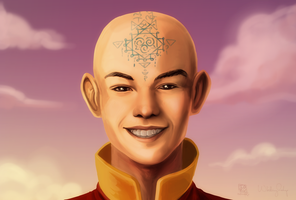 Commission - Last Airbender by IDKY-HannahFu