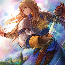 Final Fantasy Tactics - Agrias Oaks by Dice9633