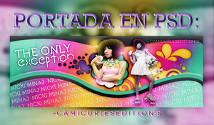 +PORTADA PSD: The Only Exception by CAMI-CURLES-EDITIONS