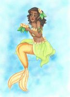 Mermaid Tiana by chelleface90