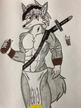 Tribal Jason by acebird1234