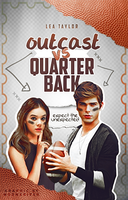 Outcast VS Quarterback // Book Cover by moonxriver