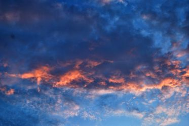red color cloud by amka-stock