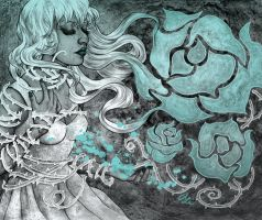 Captive to the Roses (3 color version) by AliceMeichi
